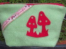 Kosmetiktasche  Unikat Poco Loco Pot Holders, Coin Purse, Purses, Wallet, Handmade, Products, Handbags, Hot Pads, Potholders