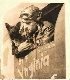 A scottie was the mascot of the Memphis Belle