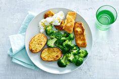 24 mei - Pangasiusfilet in de bonus - De zachte smaak van de gebakken vis matcht goed met de frisse saus - Recept - Allerhande