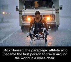 Meet Rick Hansen...