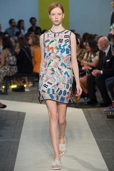 MSGM Spring 2015 Ready-to-Wear - Collection - Gallery - Look 1 - Style.com