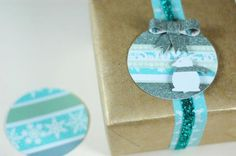 Cute Holiday Gift Toppers www.fiskars.com