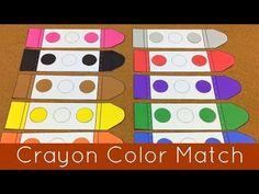 Crayon Color Match - childcareland.com