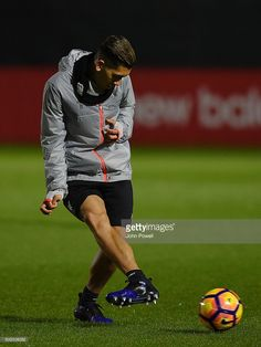 e4a06660099 Roberto Firmino of Liverpool during a training session at Melwood Training  Ground on January 20