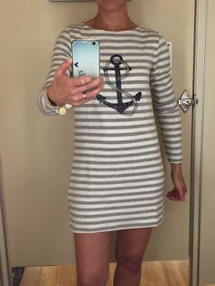 What My Teacher Wears: An anchor and stripes