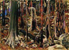 Burnt Forest Artwork By Akseli Gallen-kallela Oil Painting & Art Prints On Canvas For Sale Local Art Galleries, Life Paint, Tree Images, Scandinavian Art, Oil Painting Reproductions, Tree Art, Custom Art, Landscape Paintings, Landscapes