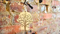 Hamsa with tree of life