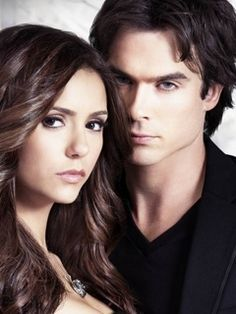 the vampire diaries wallpaper elena and damon - Google Search