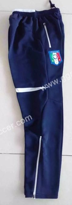 2016 European Cup Italy Blue Thailand Soccer Pants-Italy,Thailand Soccer Jacket| topjersey
