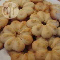 Biscoito amanteigado de amêndoas @ allrecipes.com.br