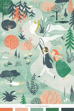 Illustration by Angela Keoghan || creaturecomfortsblog.com