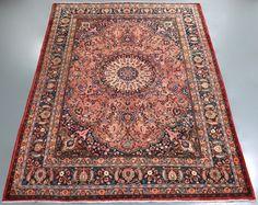 Birjand Vintage Persian Rug (Ref 61) 360x265cm - PersianRugs.com.au