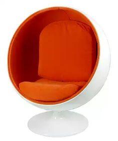 Retro Ball Chair  www.vintagelook.com