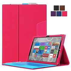 Exact Microsoft Surface Pro 3 Case [COMMUTE Series] - Portfolio-style Stand Cover Case for Microsoft Surface Pro 3 Hot Pink Exact http://www.amazon.com/dp/B00L4OXTRC/ref=cm_sw_r_pi_dp_G8oeub0QKZYNG