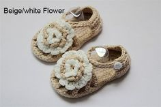 Cute Handmade Crochet Flower Sandals Shoes Newborn Baby Photograph New 6 color Crochet Baby Sandals, Baby & Toddler Clothing, Crochet Flowers, Baby Shoes, Shoes Sandals, Knitting, Cute, Handmade, Color