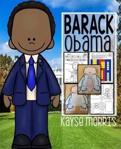 Barack Obama: Engage Students with this Barack Obama unit during Black History Month or any other time of the year! Download Preview FilePlease make sure to download the preview file and video video if applicable. Please ensure that it is appropriate for your grade level prior to purchasing.