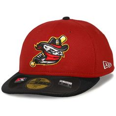 Quad Cities River Bandits New Era Low Crown Diamond Era 59FIFTY Fitted Hat  - Red  ef44046eeaab