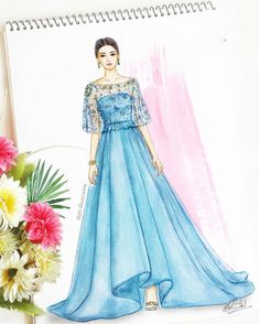 Likes, 84 Comments - Dipti Patel Dress Design Drawing, Dress Design Sketches, Fashion Design Sketchbook, Fashion Design Drawings, Dress Drawing, Fashion Sketches, Fashion Drawing Dresses, Fashion Illustration Dresses, Dress Illustration