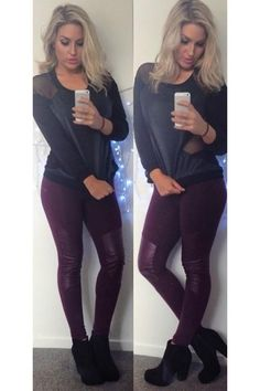 RENEGADE SWEATER - BLACK ALL ABOUT EVE PROTECT LEGGING - MAROON Coco + Dawn #shaaanxo http://cocoanddawn.co.nz/renegade-sweater-black http://cocoanddawn.co.nz/index.php?route=product/product&path=1&product_id=195