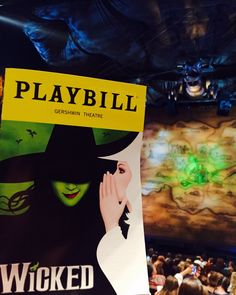 Given that I am such a huge Wizard of Oz fan, I can't believe it took me 12yrs to see #Wicked #LOVED 💗