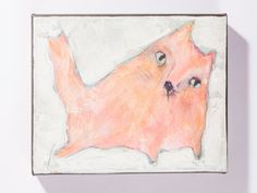 Original Fat Cat by carlasonheim on Etsy