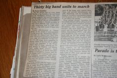 VHS Marching Band News Article