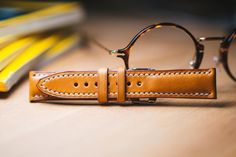 custom made leather watch strap making video by UdolLeather