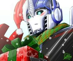 """peixesdeaquario: """" TFP: Orion by ~Bamboo-D """" Merry Christmas, guys! Transformers Generation 1, Transformers Optimus Prime, Fantasy Beasts, Holiday Pictures, Christmas Art, Fan Art, Manga, Clear Card, Marvel"""