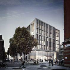 Forbes Massie / 3D Visualisation Studio / London - Work - HawkinsBrown / Bartlett School ofArchitecture: