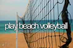 play beach volleyball against the sr. guys volleyball team or the jr. girls volleyball team