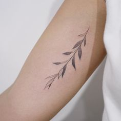 Twig Tattoo On The Right Inner Arm Tattoo Artist Doy for Doy Tattoo - Fashion Style Ideas Mini Tattoos, Body Art Tattoos, New Tattoos, Small Tattoos, Pretty Tattoos, Cute Tattoos, Beautiful Tattoos, Tatoos, Piercings