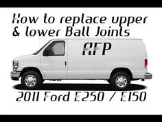 How to replace the upper and lower Ball joints on a 2011 ford E150 / E250 econoline van - http://autofixpal.com/how-to-replace-the-upper-and-lower-ball-joints-on-a-2011-ford-e150-e250-econoline-van/ - https://youtu.be/wSS6AC3RYt4