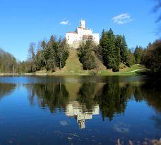 Trakoscan Castle - Croatia Small Castles, Croatia, River, House, Outdoor, Travel, Outdoors, Home, Outdoor Games