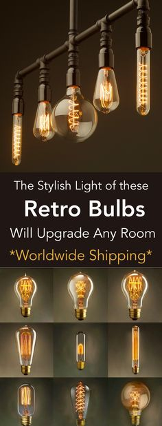 Retro Vintage Bulbs On Sale