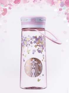 StarbucksKorea Capture the moment of Spring flower LED lantern waterbottle 600ml #Starbucks