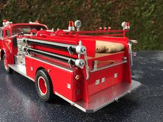 American La France Pumper - Scale 1/24 - AMT - Build by DutchModelbuilder