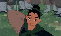 #4 Mulan / 16 Disney Princesses Ranked By Intelligence (via BuzzFeed)