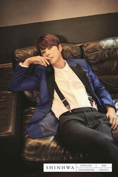SHINHWA 13TH UNCHANGING-TOUCH CONCEPT PHOTO-HYESUNG