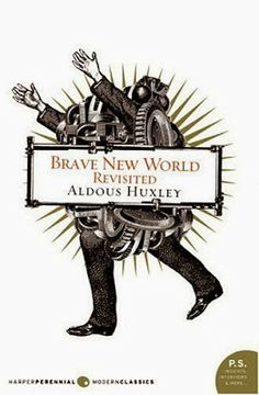 Quick Book Reviews: Brave New World by Aldous Huxley is a depiction of what the author believes the capitalist way of thinking will lead the world to become in 600 years; basically, it's a world where Ford is revered as a deity.