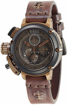 @uboatuk Watch Chimera Net Black Bronze #add-content #basel-16 #bezel-fixed #bracelet-strap-leather #brand-u-boat #case-material-black-pvd #case-width-46mm #chronograph-yes #delivery-timescale-call-us #dial-colour-brown #gender-mens #luxury #movement-automatic #new-product-yes #official-stockist-for-u-boat-watches #packaging-u-boat-watch-packaging #price-on-application #style-dress #subcat-chimera #supplier-model-no-8098 #warranty-u-boat-official-2-year-guarantee #water-resistant-100m