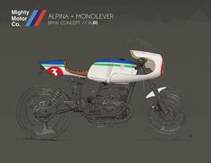 BMW Cafe Racer concept - The Mighty motor #motorcyclesdesign #diseñodemotos | caferacerpasion.com