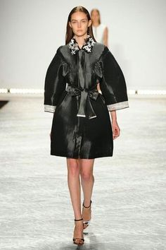 One of my favorite looks from NYFW Day 2 by Monique Lhuillier - Funky Jungle on Bloglovin