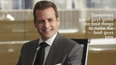 Suits. Harvey Specter Quote.