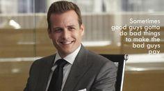 Suits. Harvey Specter Quote.