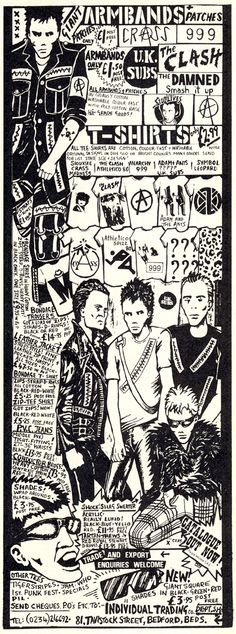 Old magazine advertisement for punk items?