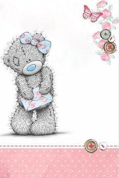 ♥ Tatty Teddy ♥ - Einen Brief für meinen Tommy. Ob er mir antworten wird???