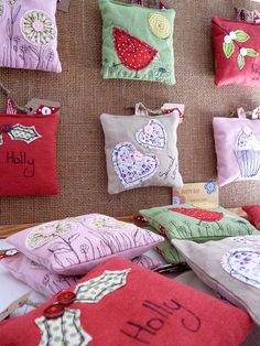 handmade lavender bags by dotty red by paper-and-string | notonthehighstreet.com