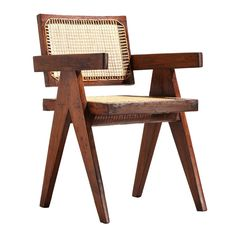 1stdibs.com | Conference armchair, 1952-56 by Pierre Jeanneret