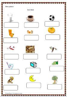 Plastic Cutting Board, Nova, Preschool Literacy Activities, Kids Learning Activities, Speech Pathology Activities, Literacy Activities, Preschool Worksheets, Read And Write, Bullet Journal