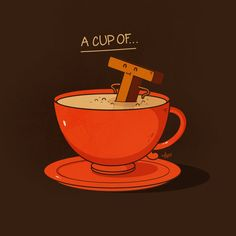 Nabhan Abdullatif or Nabs is an Omani graphic artist and illustrator, mainly into conceptual illustration and vector art. He has a nice portfolio of funny - posted under by Fribly Editorial Tea Puns, Punny Puns, Visual Puns, Funny Doodles, Tea Quotes, Hair Quotes, Food Puns, Funny Illustration, Humor Grafico